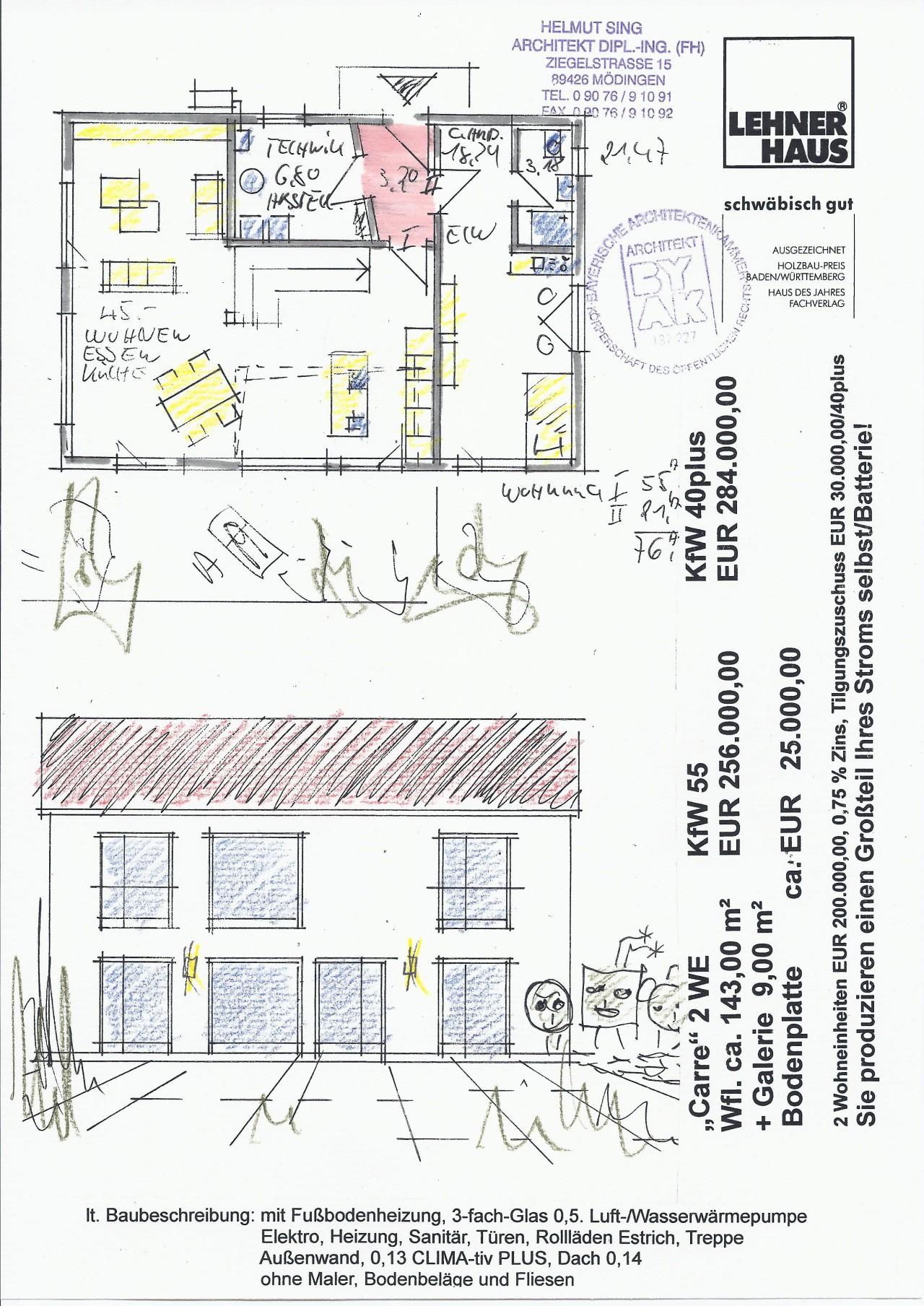 Haus Carre Mit 2 Wohneinheiten